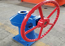 Manual gate hoist